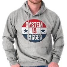 System Is Rigged Donal Trump Lost Hilary Clinton Won Hoodie Sweatshirt