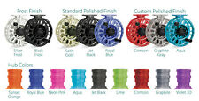 TIBOR SIGNATURE FLY FISHING REEL 7-8 WEIGHT ALL COLOURS/ HUB COLOUR OPTIONS