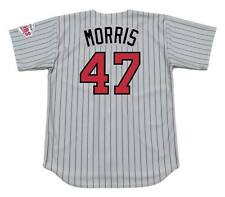 JACK MORRIS Minnesota Twins 1991 Majestic Throwback Away Baseball Jersey
