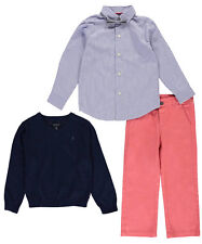 """Nautica Little Boys' Toddler """"Portsmouth"""" 4-Piece Outfit (Sizes 2T - 4T)"""