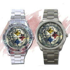 NEW Wrist Watch Sport Analogue Unisex Steelers Pittsburgh