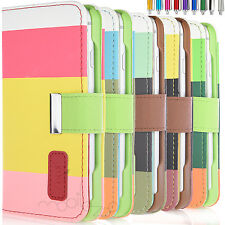 Hot iPhone 6S/6 Case Wallet Magnetic Flip Leather Cover Credit Card Slot Stand