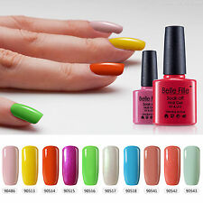 BELLE FILLE Nail Gel Polish UV LED Manicure Salon Top Base Coat Varnish Lacque