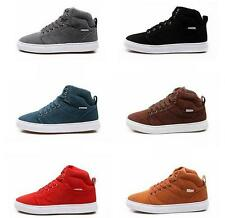Mens Sneakers ankle boots hip-hop lace up athletic Casual skate board Shoes flat