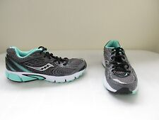 New Womens Saucony Grid Liberate Athletic Running Shoes S15231-8 Gry/Blk/Mint 8I