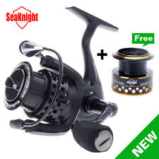 Quality High Speed Spinning Fishing Reel Carp Fishing Reel + Deep/Shallow Spool