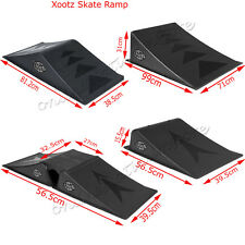 MINI LARGE SKATE RAMPS SKATEBOARD BMX SCOOTER DOUBLE RAMP 3 IN 1 PIECE