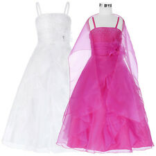 Princess Dress Wedding Pageant Party Cocktail School Prom Flower Girl Dress