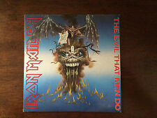 "Iron Maiden Record 7"" The Evil That Men Do. Excellent Shape Original Release!!"