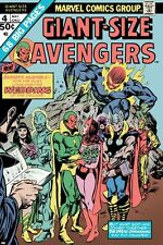 Marvel Giant-Size Avengers No.4 Cover: Vision, Scarlet Witch, Thor, Iron… Poster