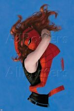 Marvel Amazing Spider-Man No.641 Cover: Spider-Man and Mary Jane Watson … Poster