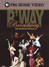 Broadway: The American Musical, Excellent DVD, Michelle Kittrell, Jack Haken, Am