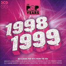 The Pop Years 1998-1999 by Various Artists (CD, Apr-2009, Proper)