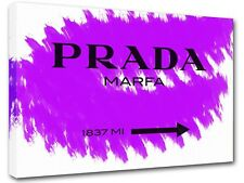 Prada Marfa Gossip Girl sign, painting canvas art, wall art, home decor -07
