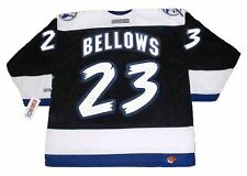 BRIAN BELLOWS Tampa Bay Lightning 1995 CCM Throwback NHL Hockey Jersey