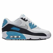 Nike Air Max 90 Mesh White Youths Trainers