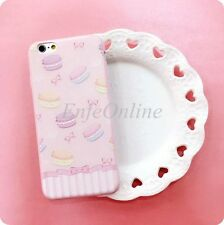 Soft Tpu Shockproof Full Cute Pink Skin Case Cover For Apple iPhone 6 / 6 Plus