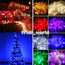 10/20/30/50/100M Fairy String Lights Christmas Xmas Tree Party In/Outdoor Decor