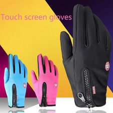 Winter Warm Outdoor Gloves Windproof Screen Touch Sports Bike Motorcycle Ski New