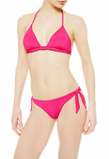 La Perla Cape Cod Pink Padded Bikini Top and Bottom Set - size 14