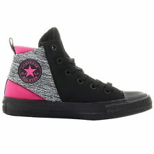 Converse Chuck Taylor Sloane Neoprene Mid Black Pink Womens Trainers