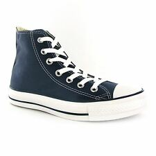 Converse Chuck Taylor All Star Hi Navy Canvas Mens Trainers