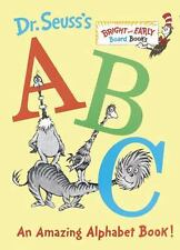 Dr. Seuss's ABC: An Amazing Alphabet Book! Board Christmas Gift Kids Toddler NEW