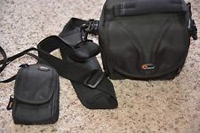Lowepro Rezo 110 AW DSLR Camera Shoulder Bag and Lowepro Compact camera case
