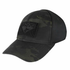 Condor Flex Tactical Cap Crye MultiCam BLACK Fitted Hat Reinforced Stitching