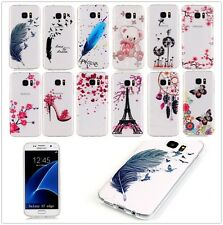 Ultra Slim Clear Soft Silicone TPU Rubber Back Case Cover For iPhone Moto Sony