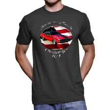 Dodge Challenger R/T American Muscle Men`s Dark T-Shirt