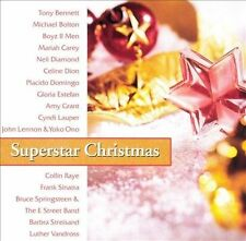 Superstar Christmas by Various Artists (CD, Sep-2001, Sony Music Distribution...