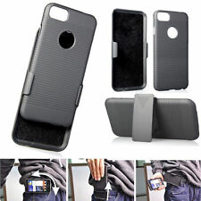 For Apple iPhone 7/7 Plus Holster Belt Clip Case Cover +Stand phone Accessory