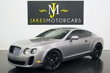 2010 Bentley Continental GT Supersports ($281K MSRP!....1-OWNER!)