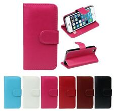 Retro Flip PU Leather Shock Proof Durable Case Cover For iPhone 5, 5G, 5S