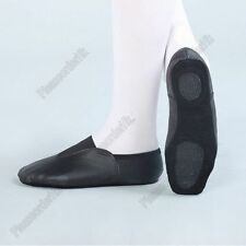Morden Jazz Ballet Dance Gym Shoes Pig Leather Split Sole Adults Sizes