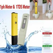 Digital LCD PH Meter TDS EC Water Purity PPM Filter Hydroponic Pool Tester IC