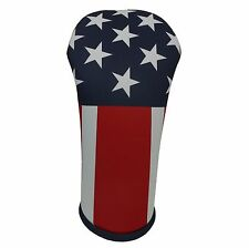 American Flag Golf Club Head Cover   Collection Made in the USA   by BeeJos USA