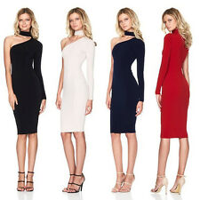 Women Sexy Bodycon Bandage Evening Cocktail Party Long Sleeve OL Pencil Dress