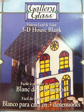 Gallery Glass 3D House Blank Plaid