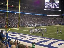 Indianapolis Colts tickets vs. HOUSTON TEXANS (ROW 5- LOWER LEVEL)
