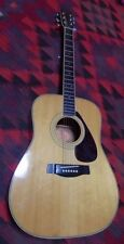 1970's Vintage Yamaha FG-201 Acoustic Guitar Orange Label NICE  Made in Japan