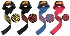 WRIST STRAPS PRO-GRIP FITNESS GYM GLOVES EXERCISE TRAINING WEIGHT LIFTING STRAPS