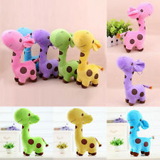 Cute Giraffe Soft Plush Toy Stuffed Animal Dear Doll Baby Kids Birthday Gift