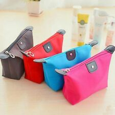 Travel Cosmetic Bags Waterproof Large Volume Nylon Makeup Storage Bag