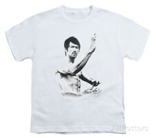 Youth: Bruce Lee - Serenity Apparel Kids T-Shirt - White