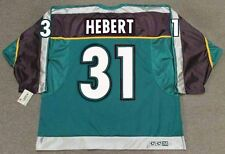GUY HEBERT Anaheim Mighty Ducks 1998 CCM Throwback Alternate NHL Hockey Jersey