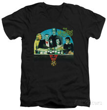 The Munsters - 50 Year Potion V-Neck Apparel T-Shirt - Black