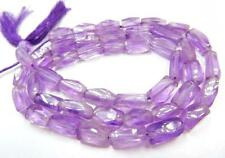 """INDIAN CUT BEADS NATURAL AMETHYST GEMSTONE SQUARE SHAPE BEADS 13"""" STRAND"""