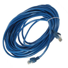 50FT RJ45 CAT5 CAT5E Ethernet Network Lan Router Patch Cable Cord Blue 15M Hot R